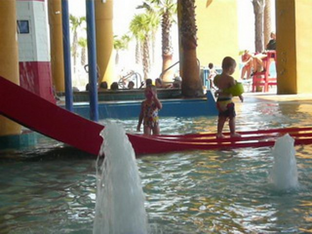 Cadence Crashes the Splash Resort's Kiddie Pool 8-09    15