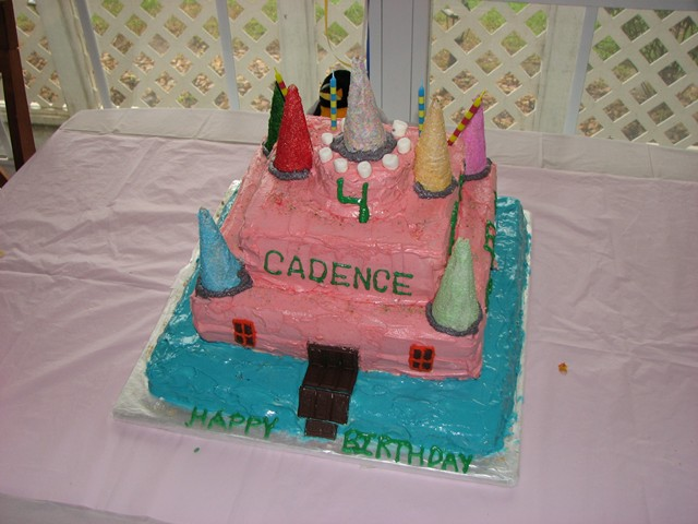 Cadence's 4th B'day Party 084