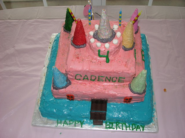 Cadence's 4th B'day Party 085