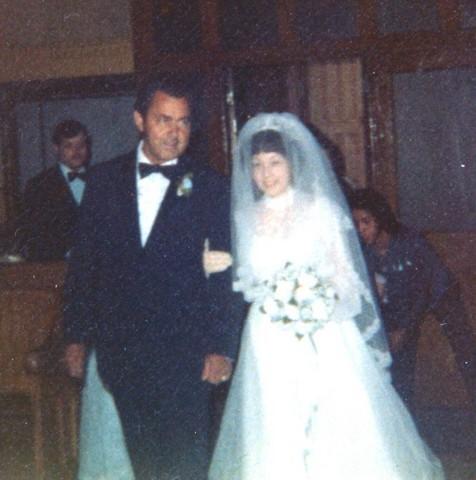 Cheryln wedding day 1
