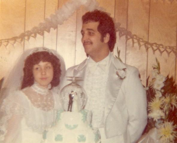 Cheryln wedding day cake