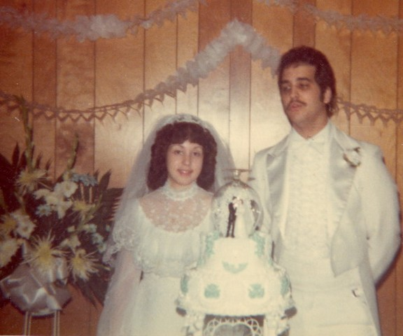 Cheryln wedding day cake2