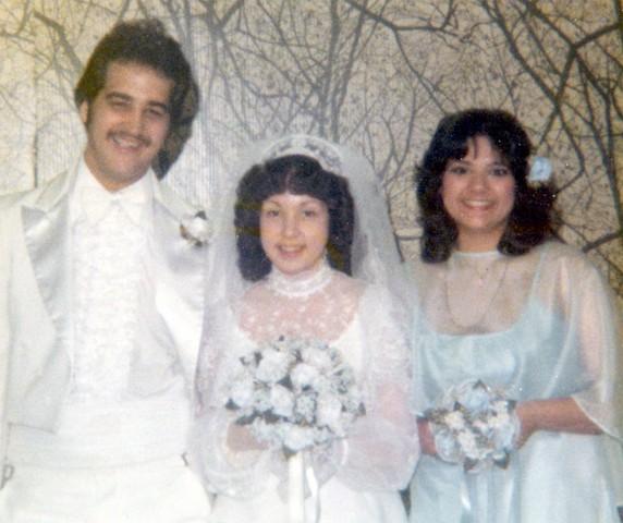 Cheryln wedding day