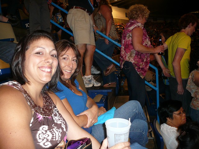Journey Concert and Cheryl's 3rd 29th B'Day 9-26-09   001 (24)