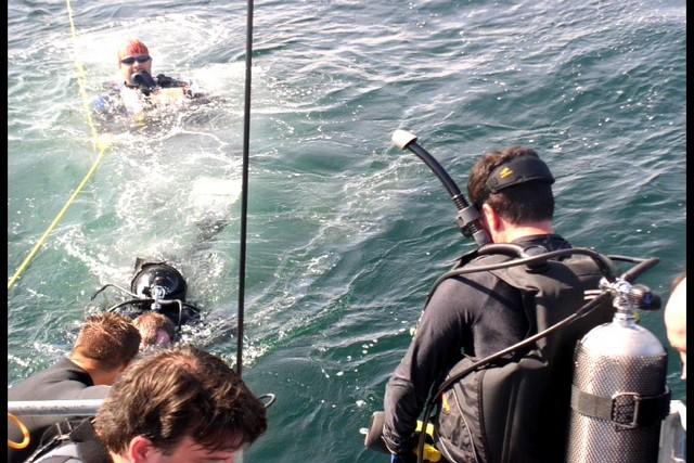 Pete Tide Check Out Dive 31