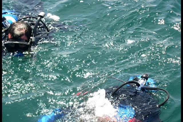 Pete Tide Check Out Dive 50