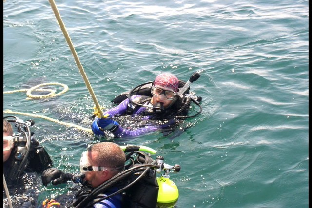 Pete Tide Check Out Dive 57
