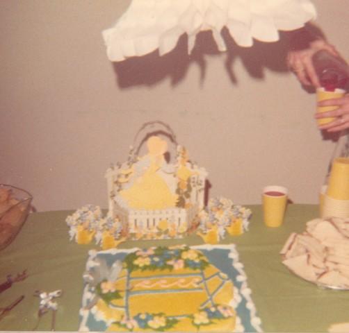 Shower Cheryln cake
