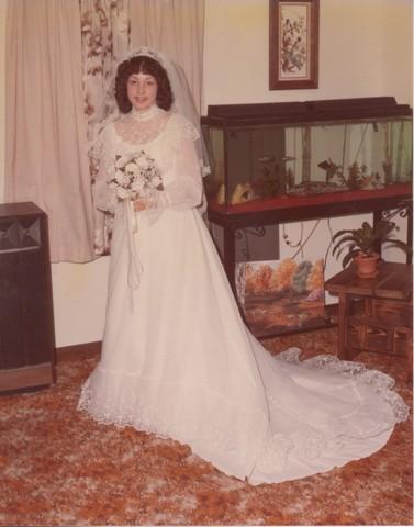 Steve and Cheryl's Wedding 1980  06