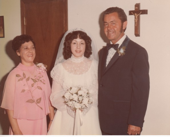Steve and Cheryl's Wedding 1980  08