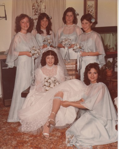 Steve and Cheryl's Wedding 1980  18