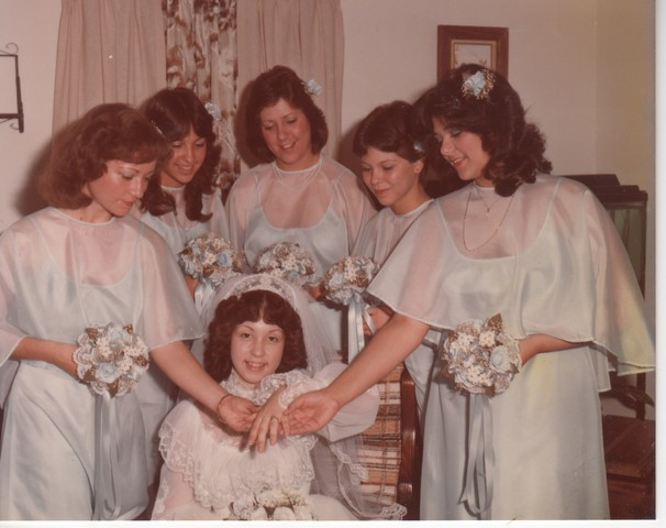 Steve and Cheryl's Wedding 1980  19