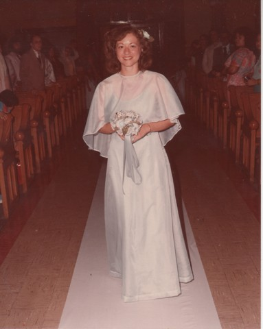 Steve and Cheryl's Wedding 1980  26