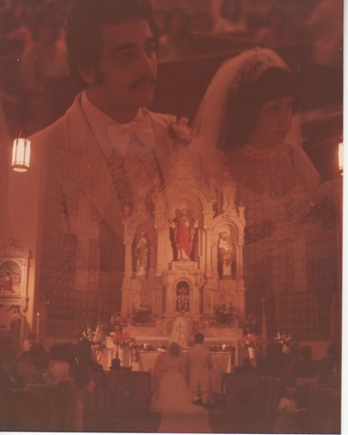 Steve and Cheryl's Wedding 1980  49