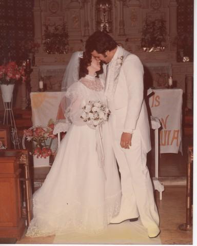 Steve and Cheryl's Wedding 1980  54