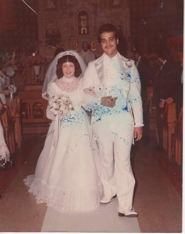 Steve and Cheryl's Wedding 1980  60