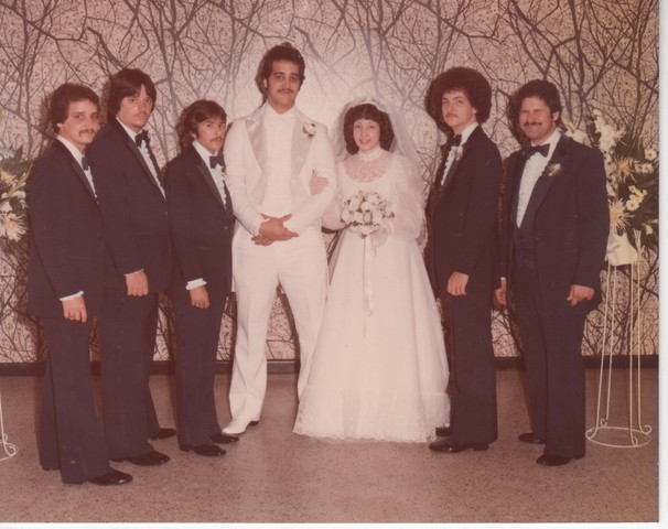 Steve and Cheryl's Wedding 1980  62