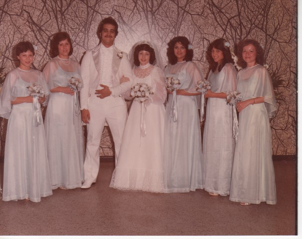 Steve and Cheryl's Wedding 1980  63