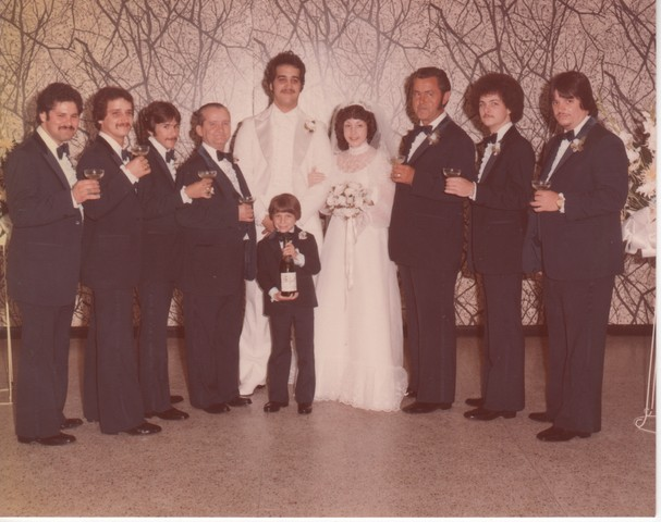 Steve and Cheryl's Wedding 1980  64