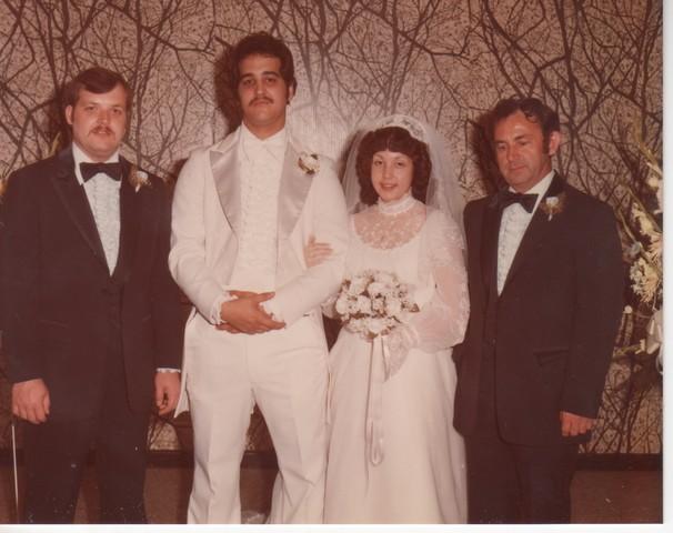 Steve and Cheryl's Wedding 1980  66