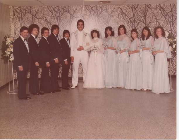 Steve and Cheryl's Wedding 1980  72