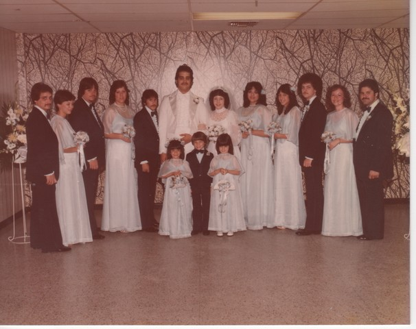 Steve and Cheryl's Wedding 1980  74
