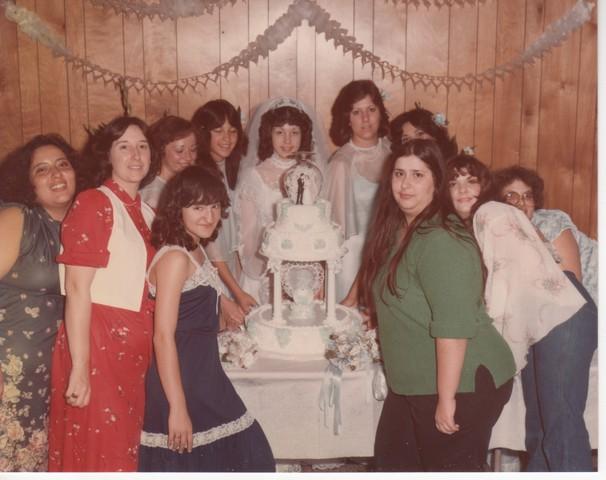 Steve and Cheryl's Wedding 1980  77