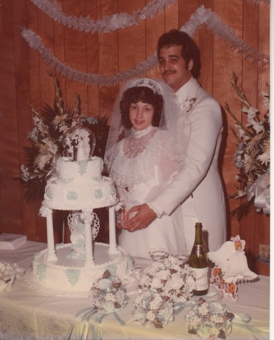 Steve and Cheryl's Wedding 1980  80