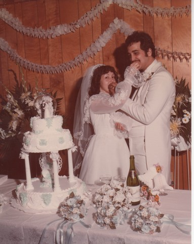 Steve and Cheryl's Wedding 1980  81