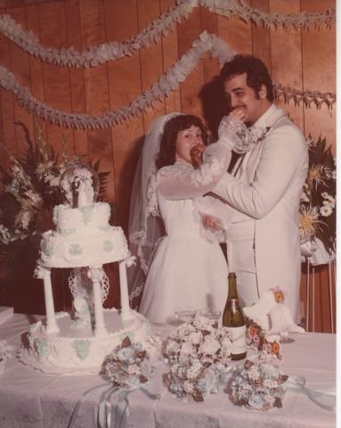 Steve and Cheryl's Wedding 1980  81