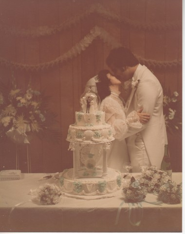 Steve and Cheryl's Wedding 1980  82