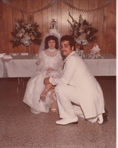 Steve and Cheryl's Wedding 1980  83