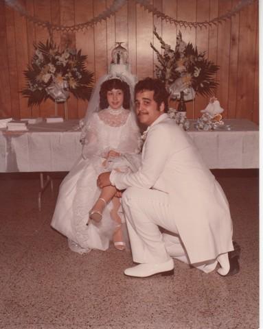 Steve and Cheryl's Wedding 1980  83