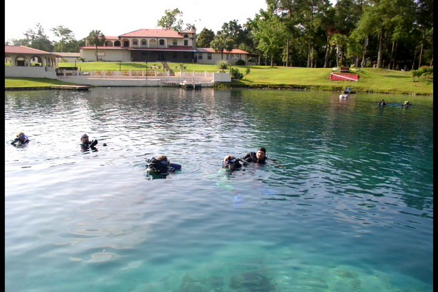 Vortex Springs Check Out Dive 07