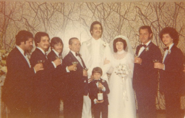 steve n cheryln wedding party