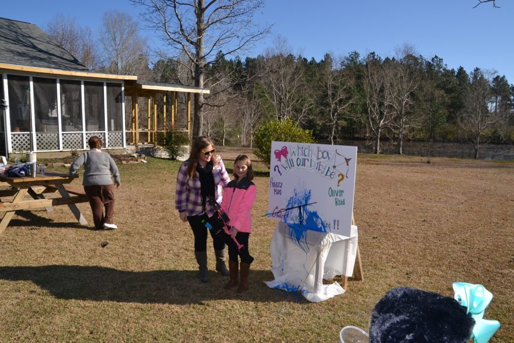 Ryan and Christina's Gender Reveal for Oliver 1-23-2016 (36)